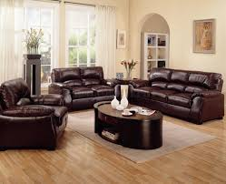 Modern Living Room With Brown Leather Sofa Living Room Ideas With Brown Couch Trendy Living Room Ideas