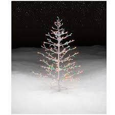 trim a home 4 5 multicolor lighted stick christmas tree shop