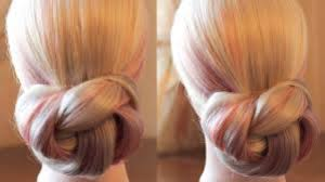Hair Style Simple easy and simple hair bun hairstyle video dailymotion 2452 by wearticles.com