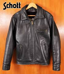 made in usa schott shot tracker jacket with leather jackets liner vest