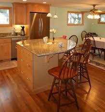 Breckenridge Kitchen Equipment And Design Rounded Top Single Level Kitchen Island Round Kitchen