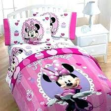 Minnie Mouse Bedroom Set Full Size Queen Bedding Comforter Twin ...