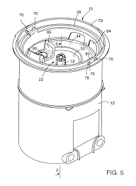 Patent us6619511 feed tube adapter for a bottled water cooler us06619511 20030916 d00004 us6619511