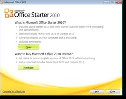 Office Dowload Microsoft Office 2010 Starter Edition Can You Download It