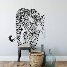 leopard wall sticker wall art com