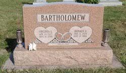 Virginia Lucille McGregor Bartholomew (1925-1998) - Find A Grave ...