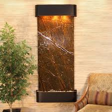 Waterfall Home Decor Waterfall Fountain With Tree Image For Modern Wall Design Indoor