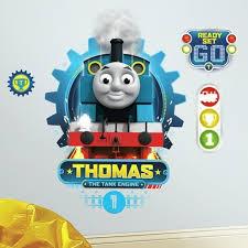 thomas the train room decor