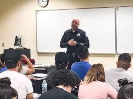San Bernardino Police Chief Speaks To Csusb Students About Dec 2