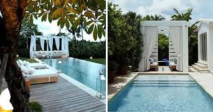 cool swimming pools. Unique Swimming Coolpoolcabanas8 To Cool Swimming Pools