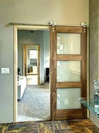sliding interior door stained glass r doors barn ideas style building a enjoyable shower awesome hardware