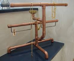 Jewelry Stands And Displays Copper Pipe Jewelry Stand by Restique on Etsy Storage 87