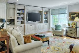 beautiful contemporary traditional family room custom wall units for family room