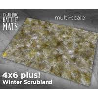 This is a fantastic looking mat, detailing all of the key areas of the battlefield. Cigar Box Battle Mats