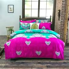 hot pink duvet cover pink duvet covers national chic bedding set flowers duvet bedclothes double twin hot pink
