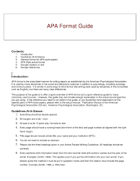 10 Apa Format Title Page 2014 Resume Letter