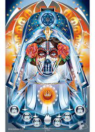Exclusive Artwork: 'Star Wars' Day of the Dead