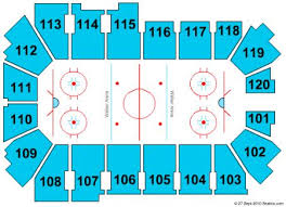 Lc Chart L C Walker Arena Tickets And L C Walker Arena Seating