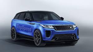 2019 Land Rover Range Rover Velar SVR Review - Top Speed