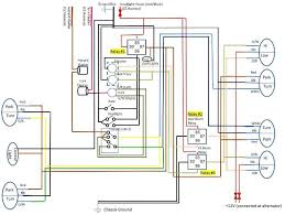 britishv8 forum what causes a relay to buzz have figured it headlight wiring jpg