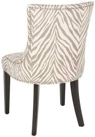 chic design animal print dining chairs mcr4709q set2 furniture by safavieh save chair covers cushion room