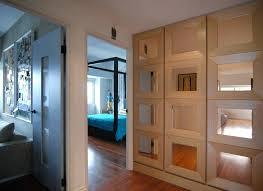 closet doors los angeles mirrored cet door hall contemporary with mirror wall mirrors custom bifold
