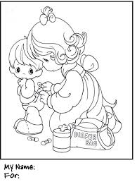 fun coloring pages free precious moments coloring
