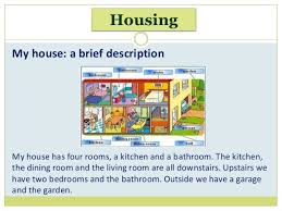 house a brief description house singular houses plural housing 4