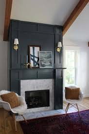 diy fake fireplace facades faux mantel makeovers apartment therapy depending on where you