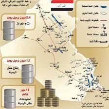 جيولوجيا Geology - حقول النفط في العراق (بتفصيل) النفط في العراق مكتشف منذ فترات سحيقة قد سبقت التاريخ فقد كان أهل بابل يستخدمون بعض أنواع النفط الاسود واستخدموا القير في أبنيتهم وشوارعهم