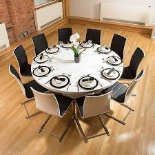 what size round table seats 10 home decor color with inspiration luxury round dining table for