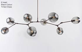 carmen bubble contemporary ceiling pendant light tudo and co