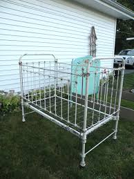 Antique Baby Cribs Antique Wrought Iron Baby Bed Crib Hospital Bed Slide Down Rail