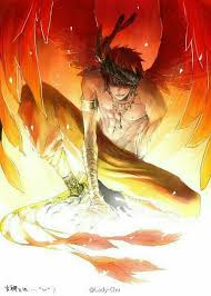 anime characters with wings boy. Brilliant Boy Anime Boy Wings Phoenix Tail Fire Cool Guys For Characters With Wings Boy E