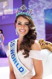 miss world rolene strauss pageant makeup tutorial