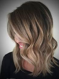 Medium Blonde Ombre Hair Ombre Hair Dark Brown To Blonde Medium Length