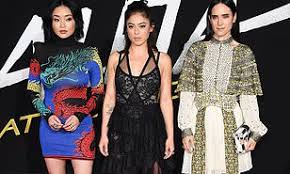 Apocalypse , has joined the cast of james cameron's alita: Jennifer Connelly Rosa Salazar And Lana Condor Stun At The Alita Battle Angel La Premiere Daily Mail Online
