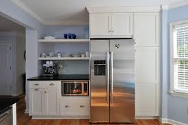 can a countertop microwave be built in traditional kitchen traditional kitchen ge pebsfss cu ft countertop can a countertop microwave be built