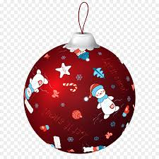 red christmas ornaments clipart. Unique Christmas Red Christmas Ball With Snowman PNG Clip Art Image Inside Ornaments Clipart I