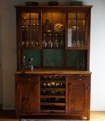 Cabinet With Wine Cooler Ideas Nice Wine Hutch With Wooden Material Radyosyonorg