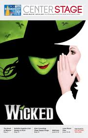 Tpac Andrew Jackson Seating Chart Tpac Broadway Wicked By Performing Arts Magazines Of