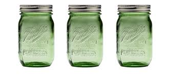 ball mason jars. ball jars heritage collection green blue canning kitchen mason