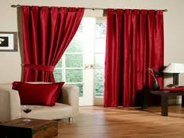 Red Curtains - Red Curtains Decorating Ideas