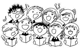 Image result for kids singing cartoon
