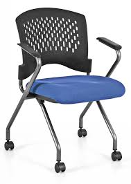 nesting chairs edmonton. agenda nesting chair with optional blue seat chairs edmonton