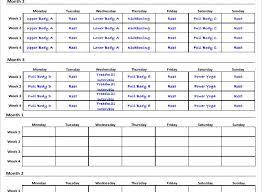 workout program template unique workout calendar template excel eoua