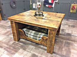 precious dog beds end tables k6185984 incredible x rustic hand made coffee table with reclaimed timber