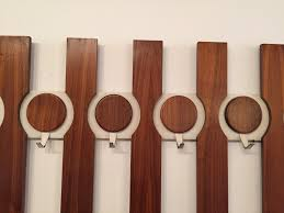 Retro Coat Rack Danish Wall Mounted Teak Coat Rack Retro Living London UK 7