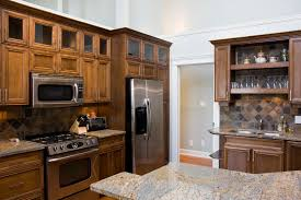 compact office kitchen modern kitchen. Best Ge Slate Refrigerator For Modern Kitchen Appliance Ideas: Oak Cabinets With Compact Office C