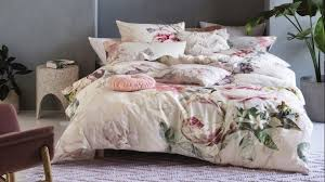 linen house sansa ivory super king bed quilt cover set